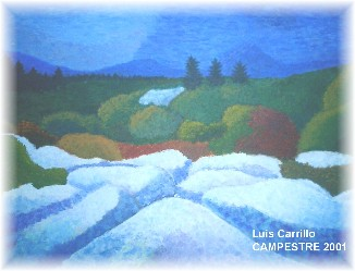 CAMPESTRE. Acrylics on canvas. 2001